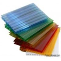 сотовый поликарбонат цветной 6 мм 12 м.пог