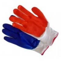 перчатки с латексным покрытием