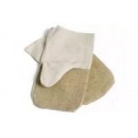 рукавицы с брезентовым налодонником