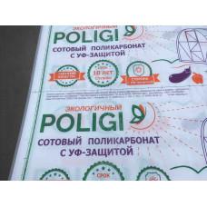 Сотовый поликарбонат Полиджи ( г.Кострома)