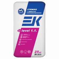 Смесь для пола EK Level 1,1 самонивелирующая 25 кг.