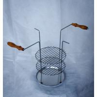 Тарелка-решетка трех-ярусная