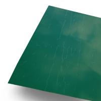Оцинковка листовая 1250х2000 (0.5мм)  RAL 6005 Зелёный мох