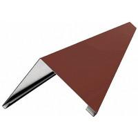 Планка конька плоского 150х150х2000 полимер
