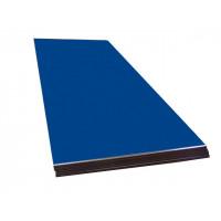 Оцинковка листовая 1250х2000 (0.5мм) RAL 5005 Сигнальный синий