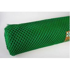 Сетка пластиковая ( квадрат ) 20х20  (1х25) зеленая