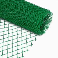 Сетка пластиковая ( квадрат ) 15х15 (1.6х25) зеленая цена за м.кв.